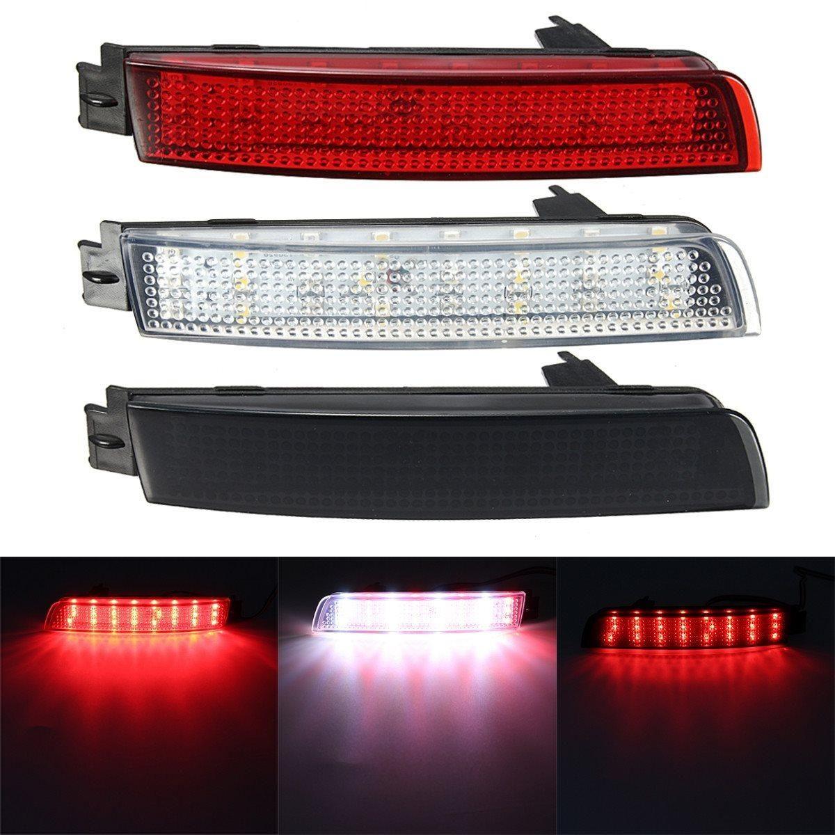 2 Pcs Led Bumper Reflector Red Lens Tail Brake Light Lamp For Nissan Juke Murano Infiniti Fx35 Fx37 Fx50 21 99 Nissan Juke Infiniti Fx35 Infiniti