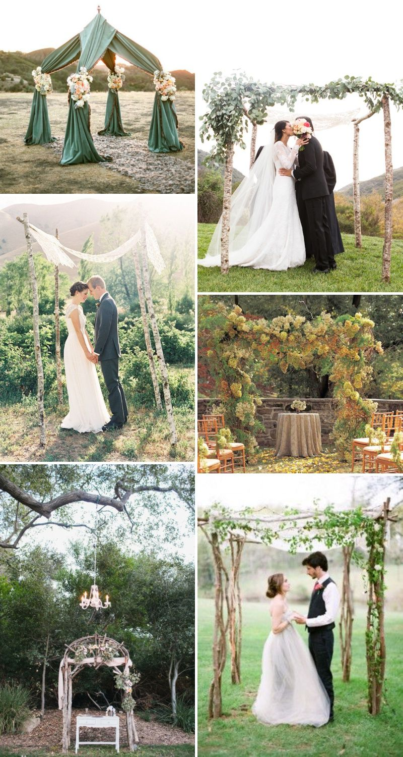 Aisle Style – Wedding Ceremony Arch Inspiration