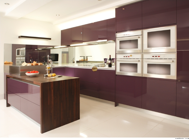 Aubergine Kitchen  Kitchen  Pinterest  Kitchens And House Beauteous Modern Kitchen Design For Small House Inspiration