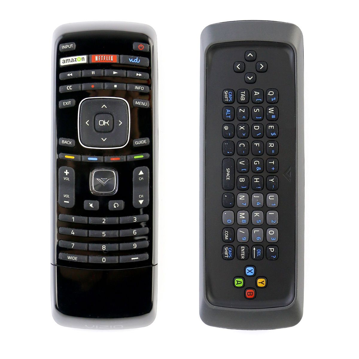 New XRT300 Qwerty Keyboard Remote Control with Vudu for