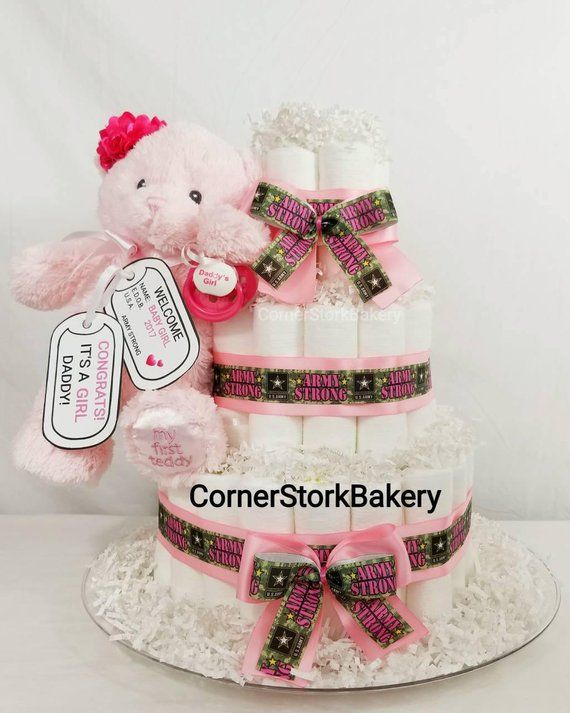 army baby girl gift army baby shower centerpiece baby girl diaper rh pinterest com baby shower decorations for a girl amazon baby shower decorations for a girl homemade