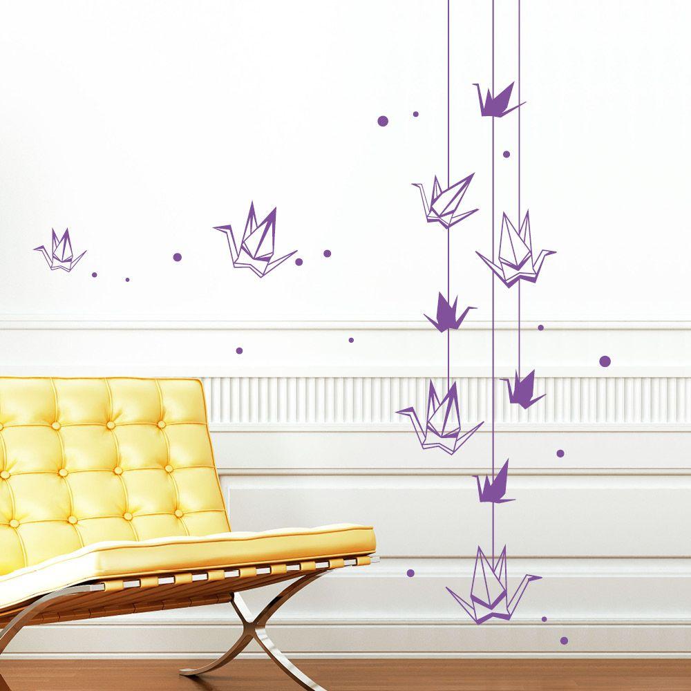 Origami Kraniche und Vögel Diy home decor, Home decor, Decor