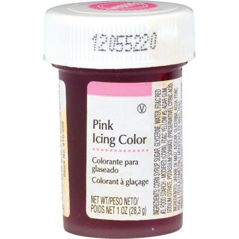 Pink Icing Color 1oz - Cake, Cupcake Supplies - Baby Showers - Categories - Party City