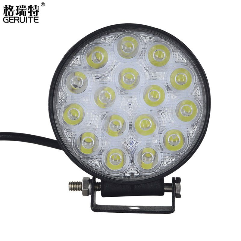 4pcs 48w Led Work Light For Indicators Motorcycle Driving Offroad Boat Car Tractor Truck 4x4 Suv Atv Flood 12v Led Driving Lights Car Led Lights Led Work Light