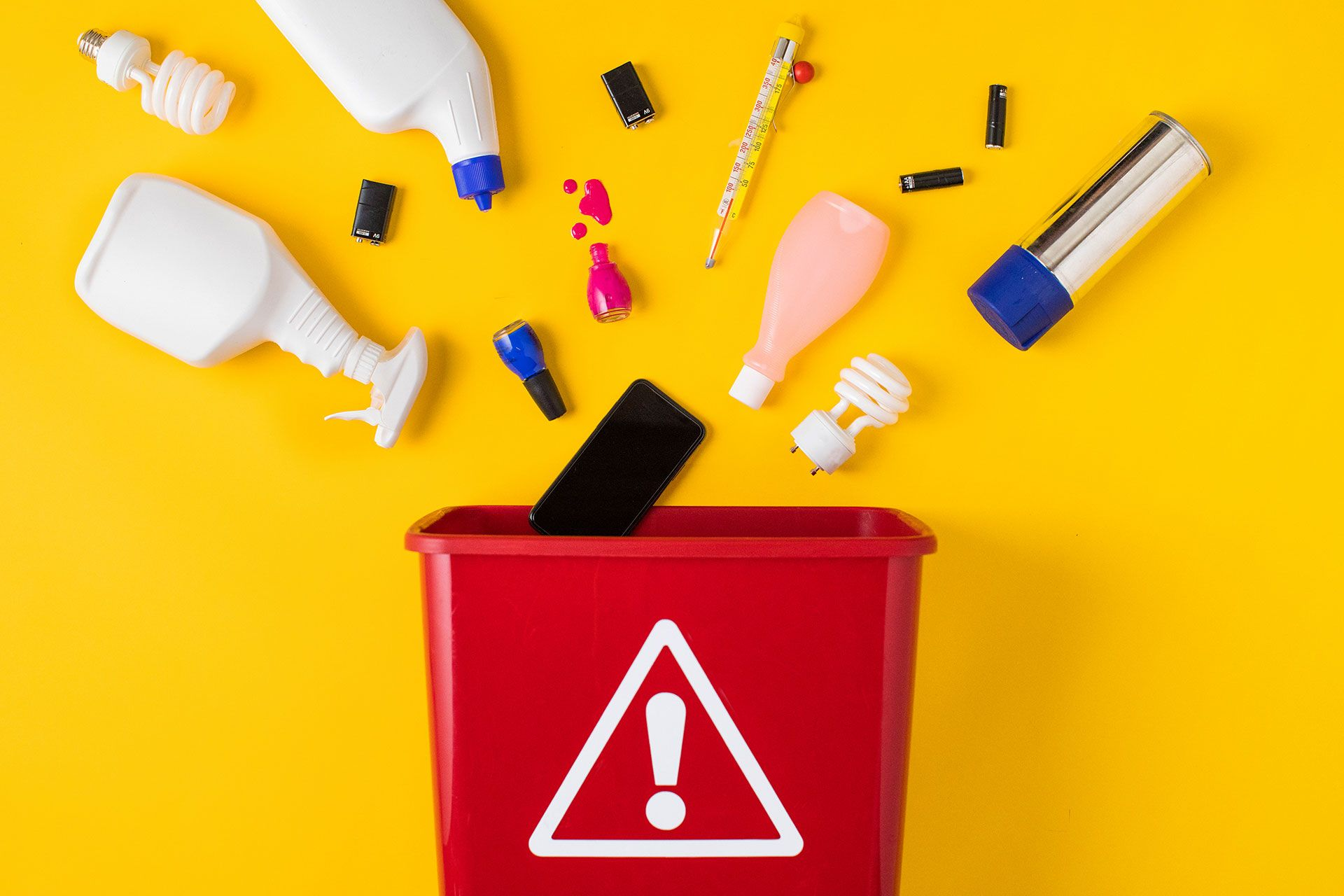 How to dispose of household hazardous waste safely