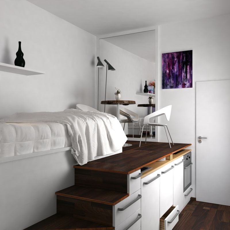15sqm Apartment Interior Design Apartment Interior Apartment Interior Design Studio Apartment Layout
