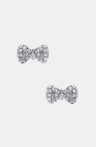 Sweet Bow Stud Earrings