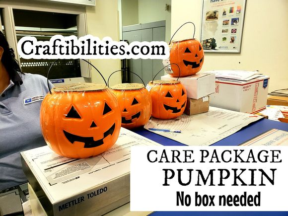 Halloween care package - PUMPKIN filled with candy MAILED ...