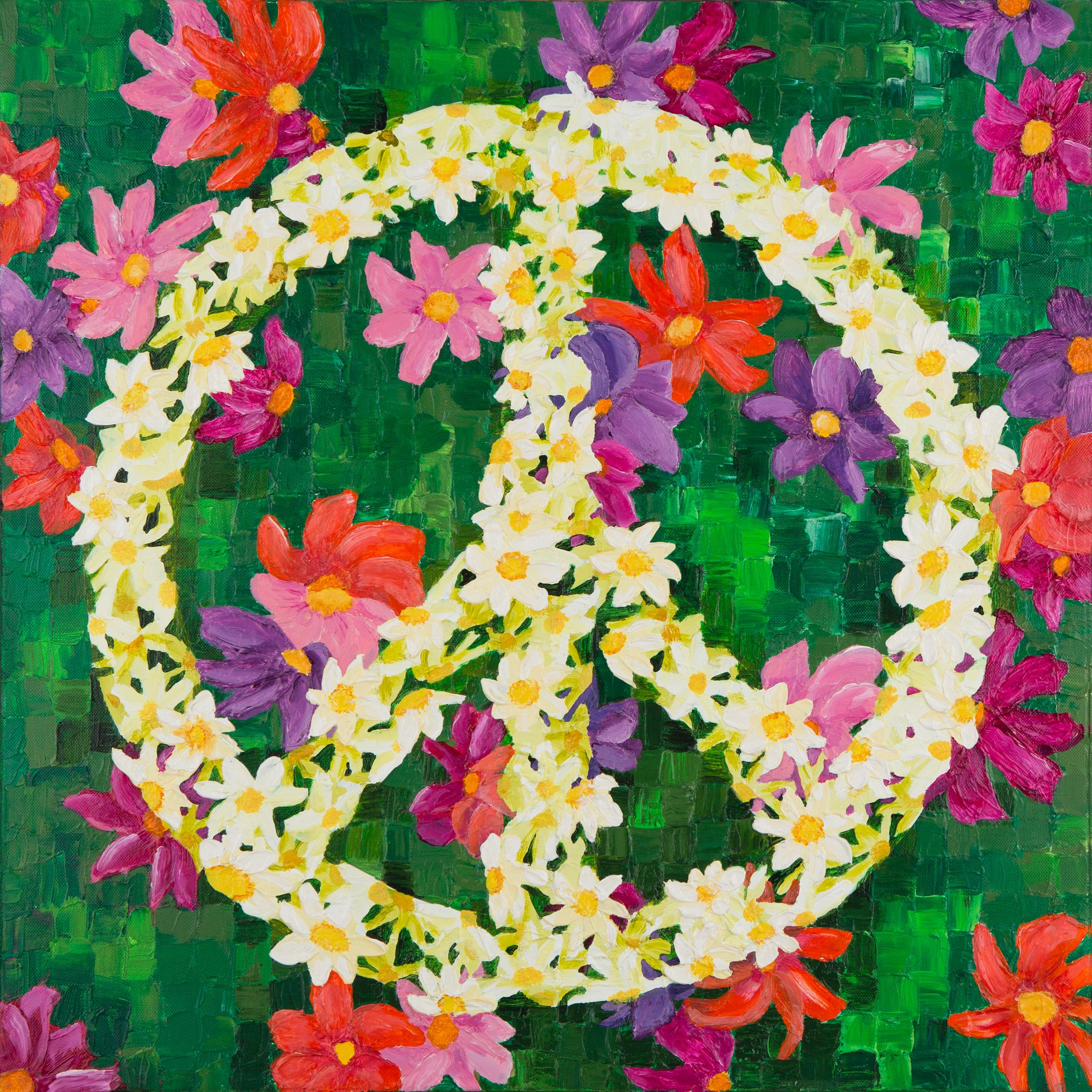 Give peace a chance. . . . (this is my art).