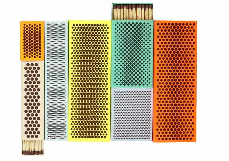 Selección de cajas de cerillas de diseño