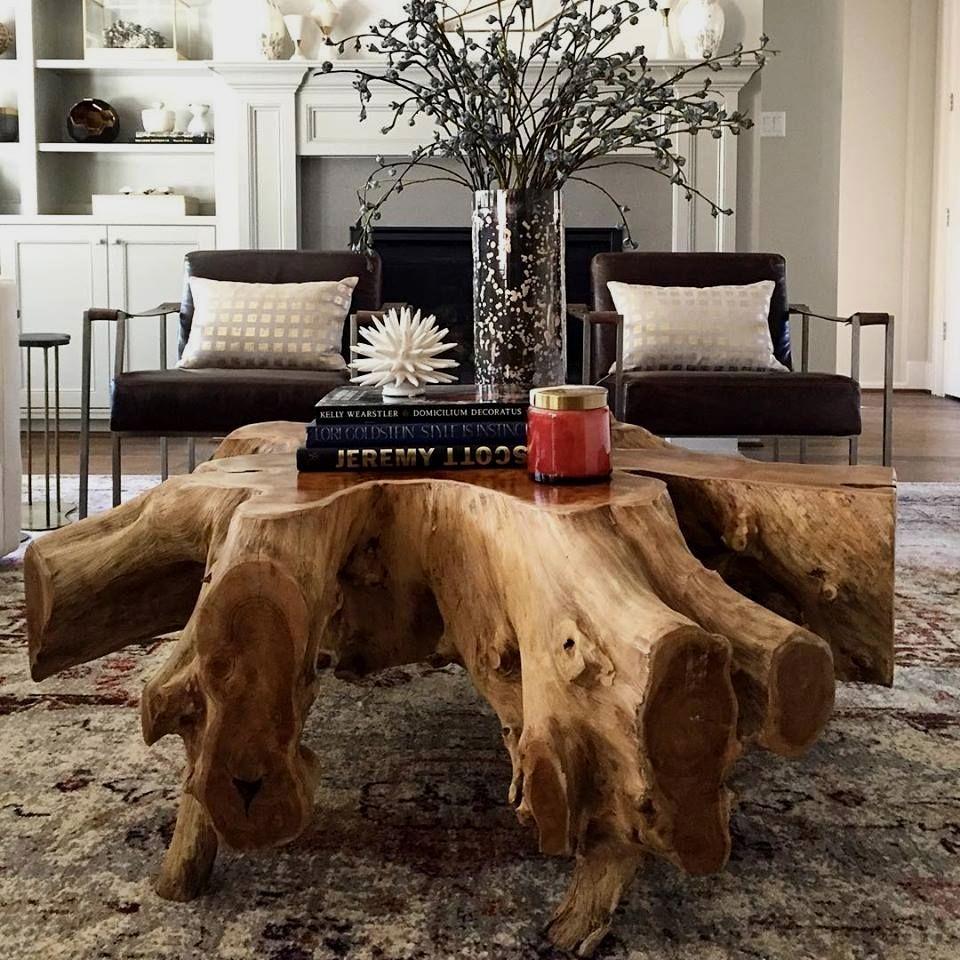 New Coffee Table Ideas Rustic Furniture Design Tree Stump Furniture Coffee Table Wood [ 960 x 960 Pixel ]