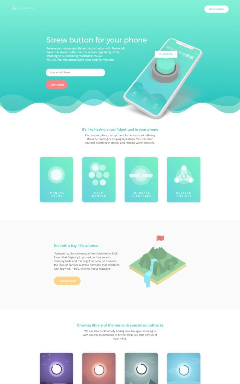 46 Examples Of Best Mobile App Landing Pages