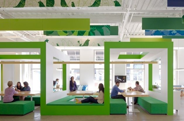 Office designs for tech companies silicon valley cool workspaces office interiors office How many hours do interior designers work