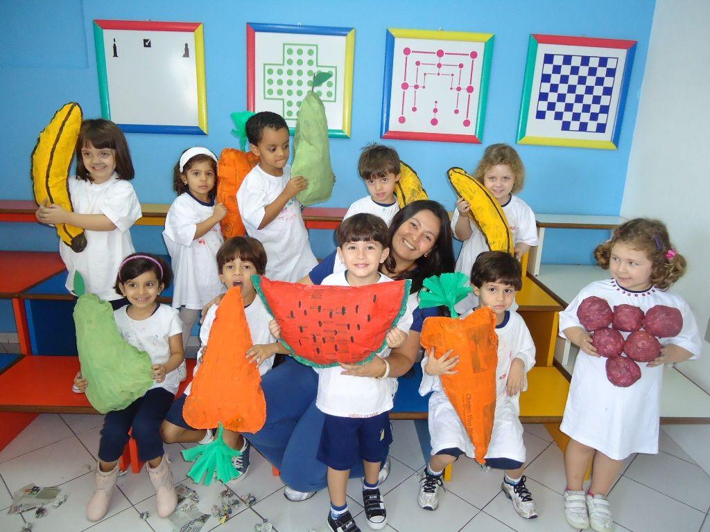 Suficiente Atividades para maternal, creche e berçário: Projeto Alimentação  EL48