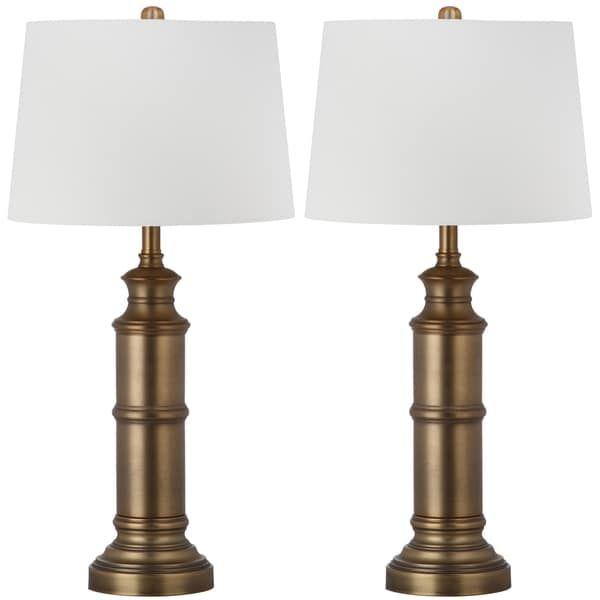 $149 Safavieh Lighting 30.5 Inch Mariner Brass Gold Table Lamp (Set Of 2) |  Bancada | Pinterest | Table Lamp Sets And Lamp Sets