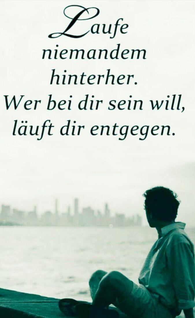 Laufe niemanden hinterher... | Sprüche | Pinterest ...
