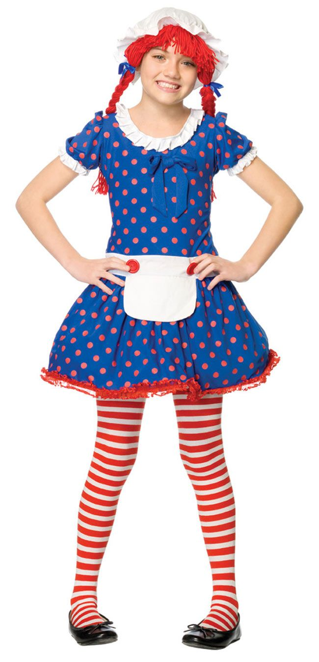 Girls Rag Doll Costume Rag Doll Costumes Street Dance