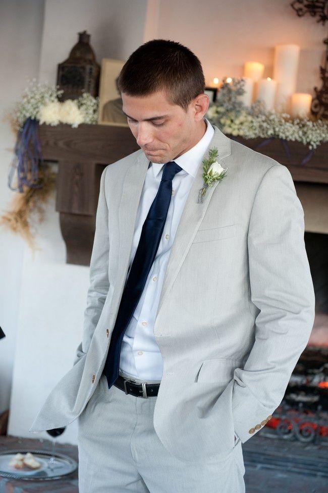 light grey suit wedding - Google Search | Wedding Inspiration ...