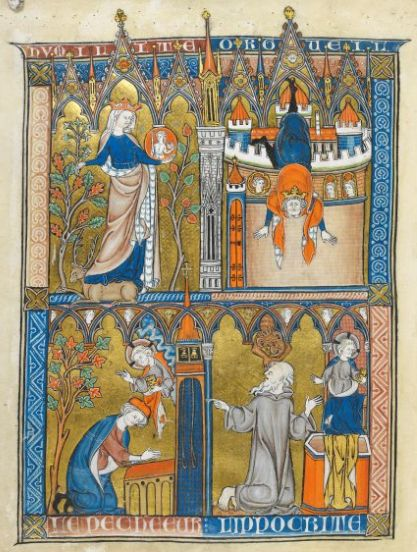 Somme le Roi, MS 28162, Fol 005v, ~1290-1300, France