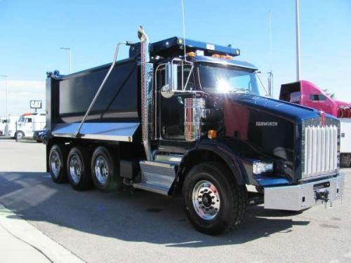 2015 KENWORTH DUMP T800 #truck http://equipmentready.com/details/2015_dump_kenworth_t800-5541714