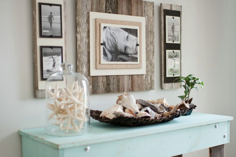 Decor Ideas Extra Large Reclaimed Wood Picture Frame With 2 Double Frames