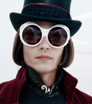 johnny depp in charlie and the chocolate factory 2005