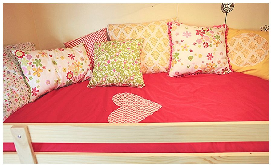 Playhouse Bed Girls Bedroom Diy Ikea Makeover With