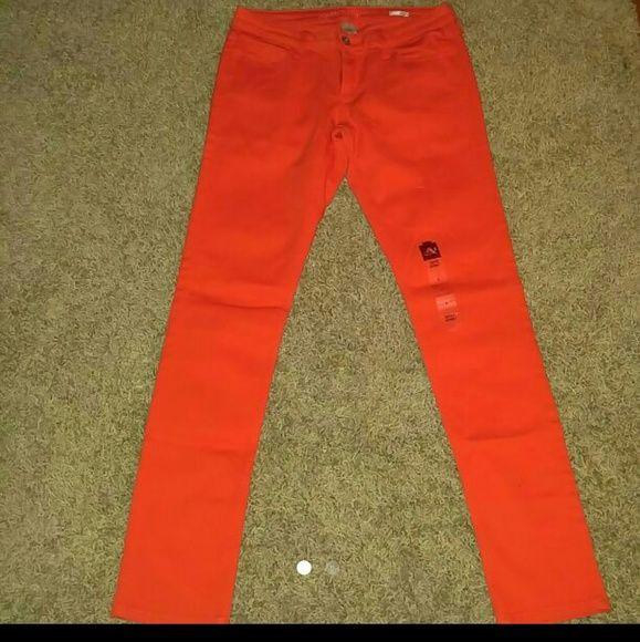 Orange skinny jeans New Arizona Jean Company Jeans Skinny