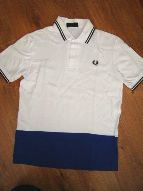 dbe058775 NEW FRED PERRY M12 Twin Tipped Pique Polo WHITE top SIZE S 38 INCH 96 CM   fashion  clothing  shoes  accessories  mensclothing  shirts (ebay link)