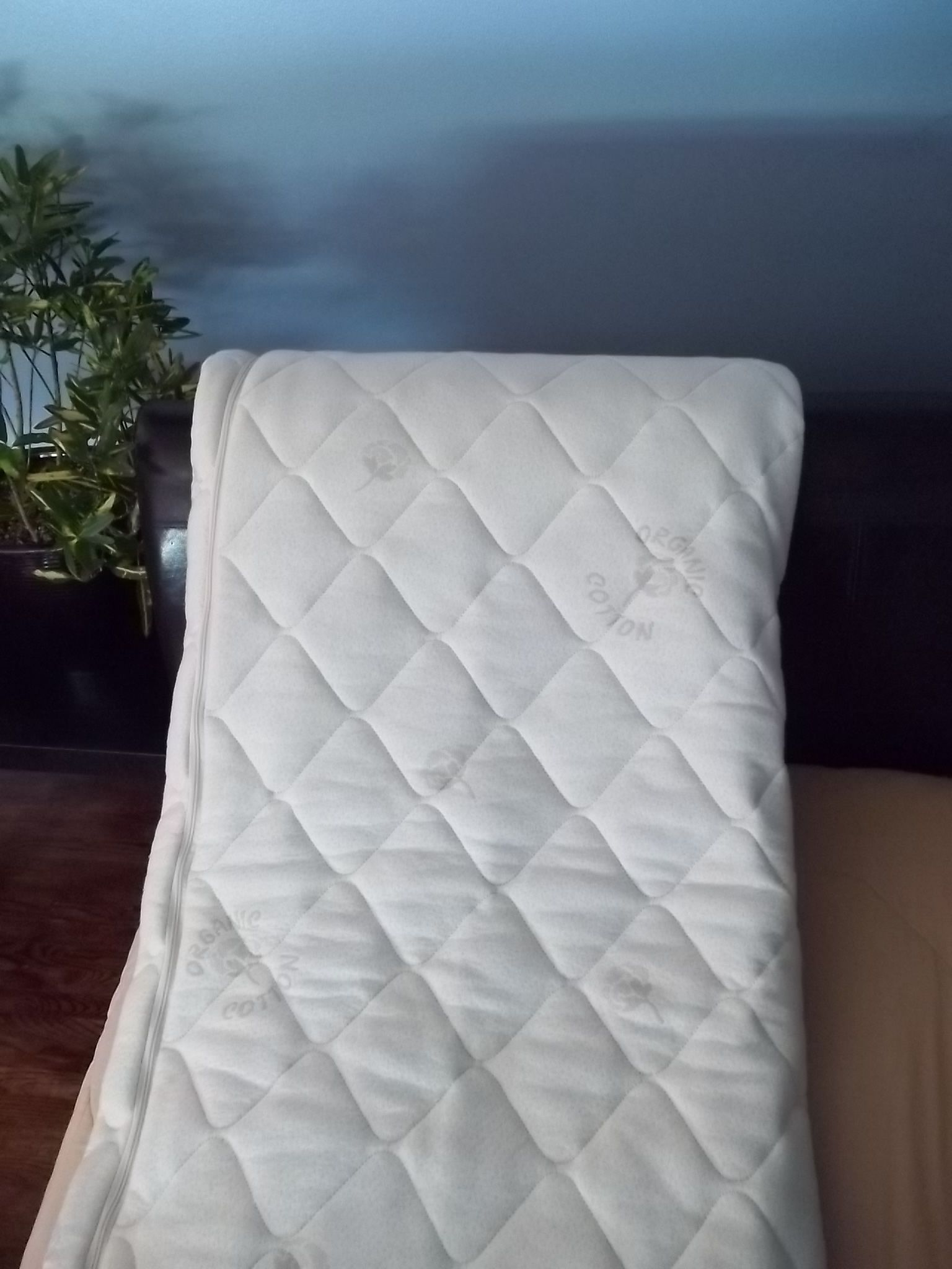 quilted ticking natural latex natural bedding and mattress
