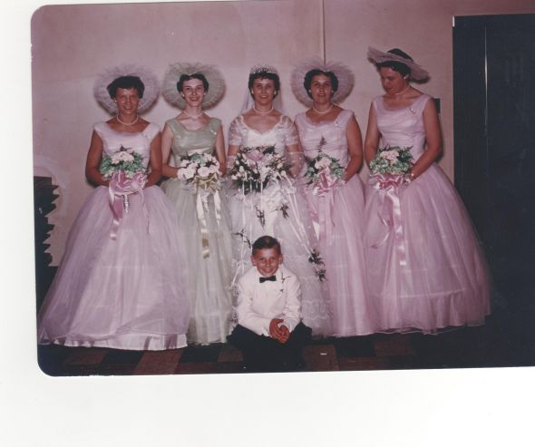 1956 Bridesmaids Weddingbee Boards A Bridesmaids vintage in