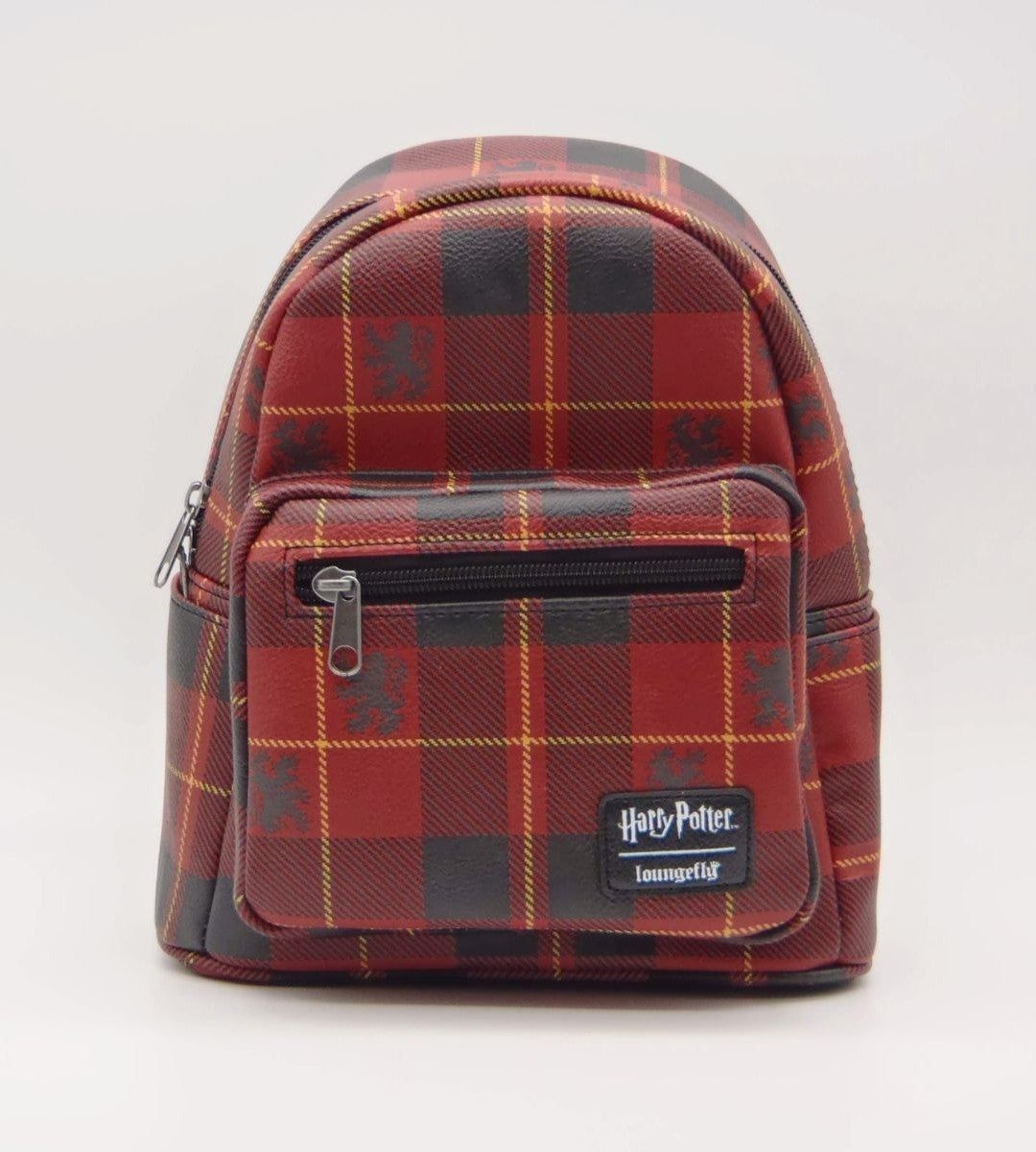 Loungefly harry potter gryffindor plaid mini backpack f4