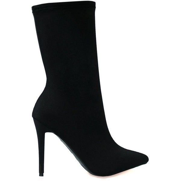 Black Boots with Heels