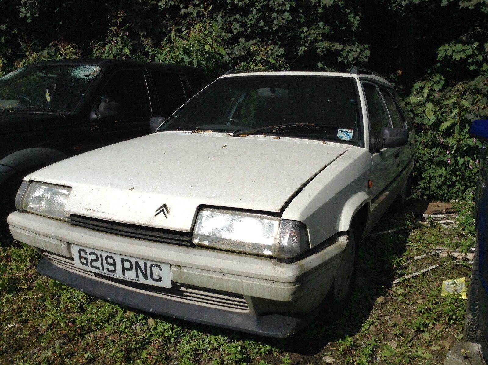 eBay: Citroen BX 19 RD Diesel Estate - 1989 G - Spares or Repairs #