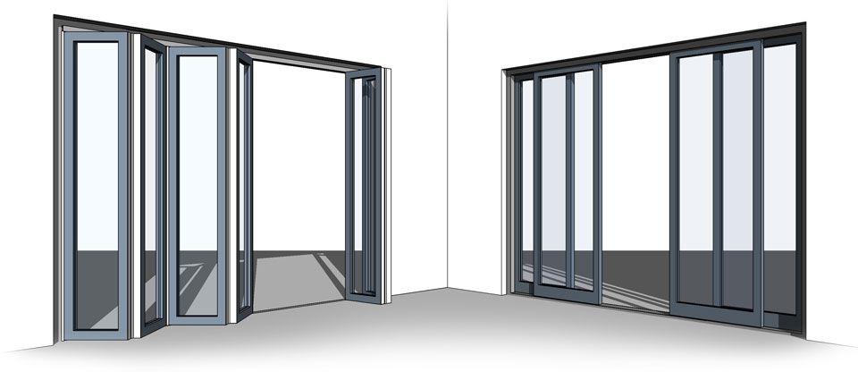 All In One Revit Bi Fold Sliding Door Family Headboard Curtains Cheap Curtains Curtain Styles