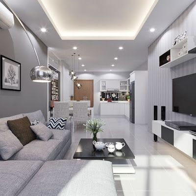 Modern Living Room Makeover Decorating Ideas 2019 Ceiling Design Living Room Living Room Design Modern Living Room Modern