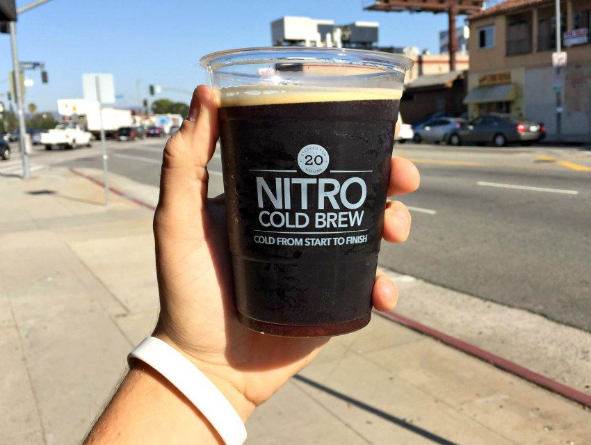how to make nitro cold brew starbucks