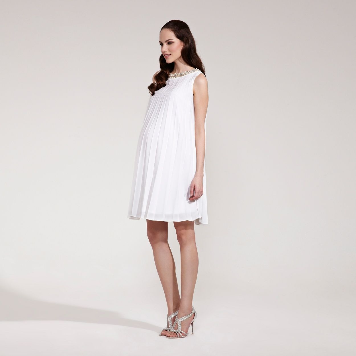 Rock a bye rosie cream sunray pleated maternity dress at rock a bye rosie cream sunray pleated maternity dress at debenhams ombrellifo Gallery