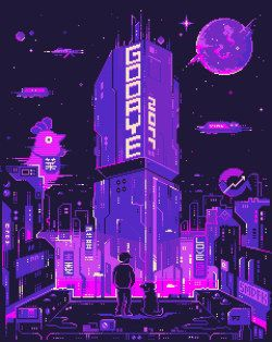 it8Bit — Space Fantasy Gif by Pixel Jeff || IG