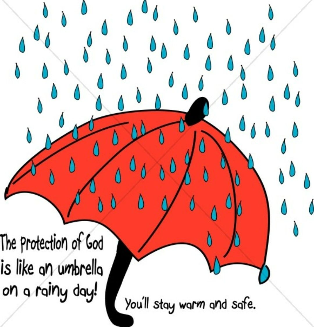 God protects His people Rain ☔