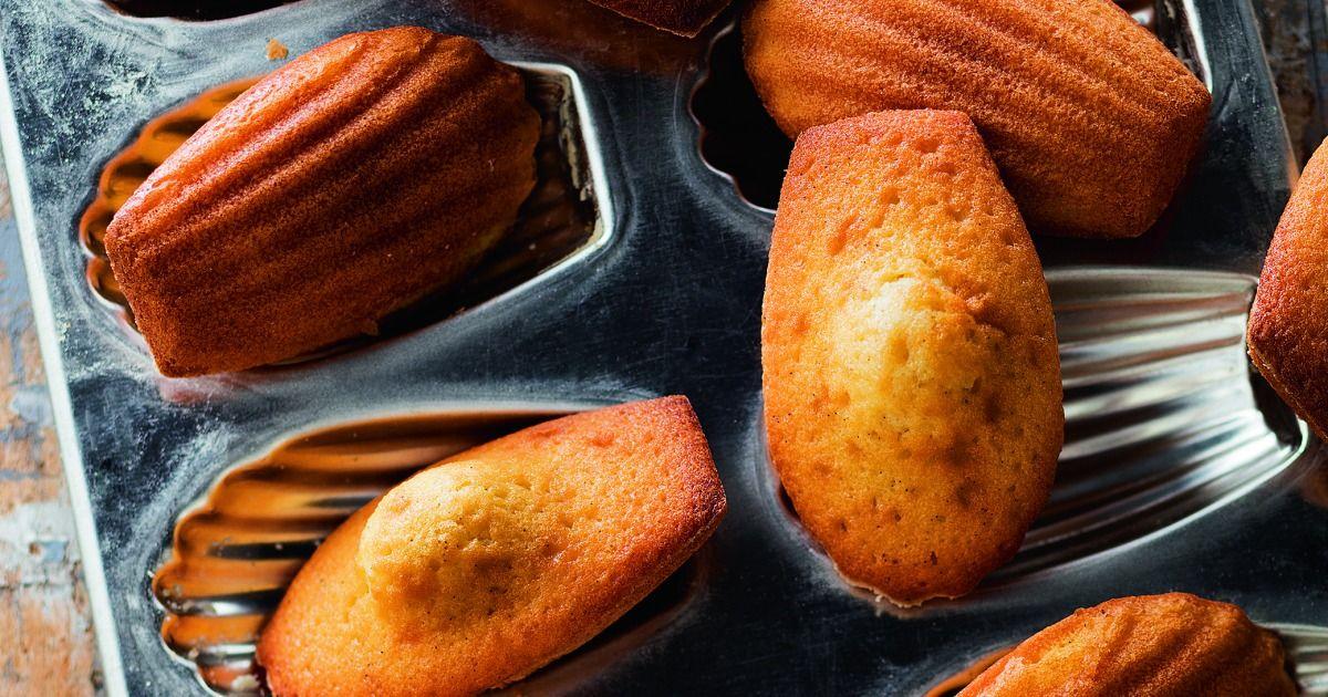 Recette - Madeleines vanille citron en pas à pas
