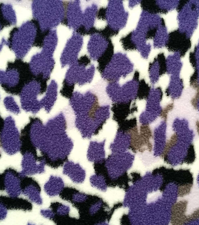 Antipill fleece fabric layered cheetah print products pinterest