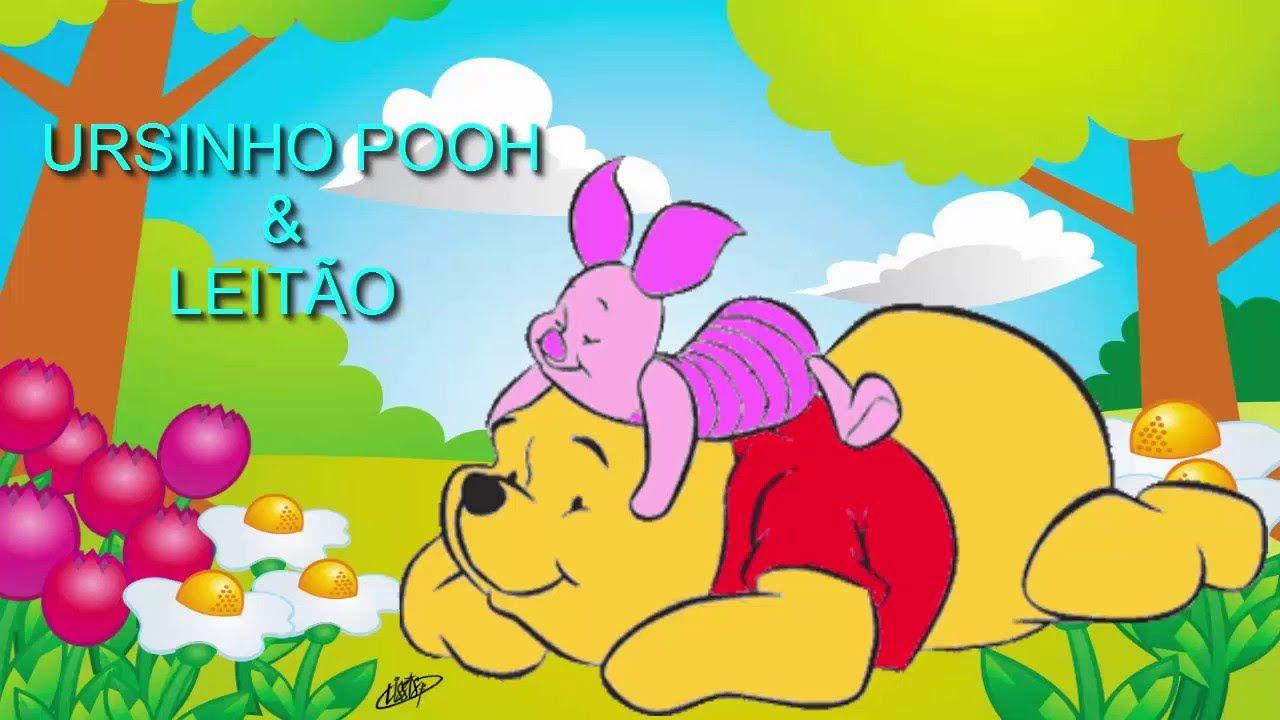Desenho O Ursinho Pooh E Leitao Completo Em Portugues 2016 Pooh Ursinho Pooh Desenho