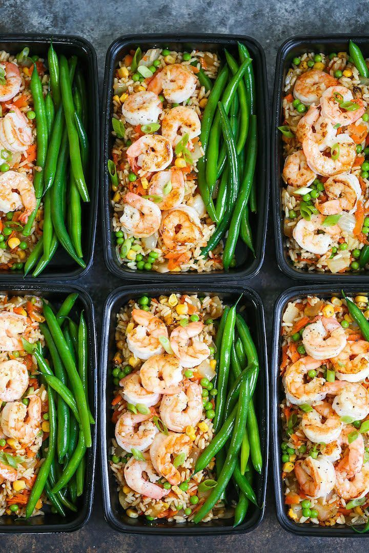 Shrimp Fried Rice Meal Prep Shrimp Fried Rice Meal Prep
