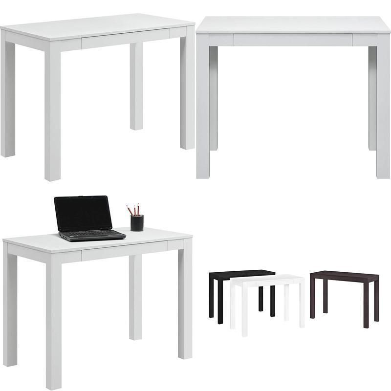 Lovely Parsons Table White