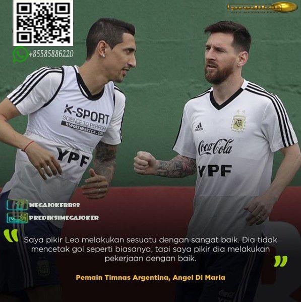 Di Maria Bela Performa Messi Di Copa America Lionel Messi