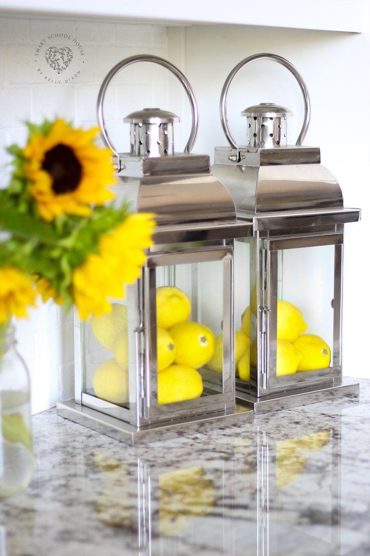 Kitchen Decor Update (With images) | Lemon kitchen decor ...