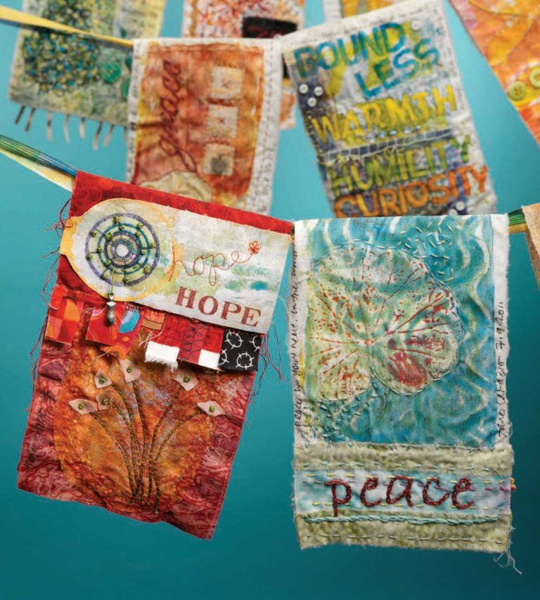 How To Make Prayer Flags Cloth Paper Scissors Prayer Flags Paper Embroidery Tibetan Prayer Flag