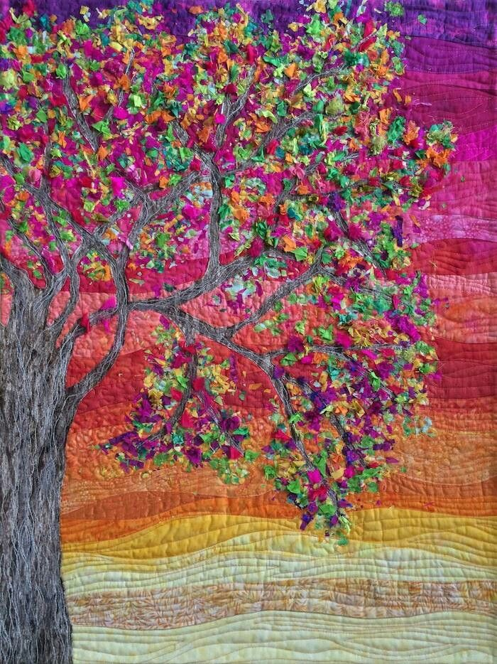 Beautiful Landscape Art Quilts Art Quilts Landscape Quilts