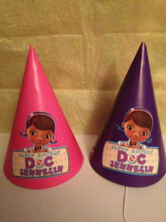 Sombreritos de fiesta de la Doctora Juguetes.